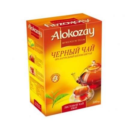 Чай черный листовой Alokozay 100 г