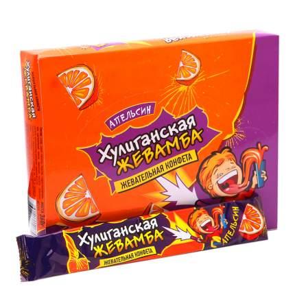 Жевательная конфета Хулиганская жевамба апельсин