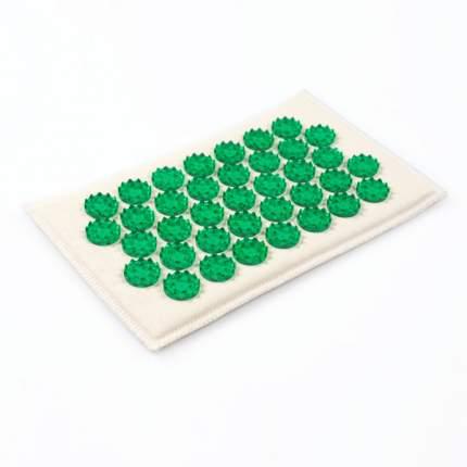Массажер-аппликатор Лаборатория Кузнецова без магнитов 12 x 22 см зеленый