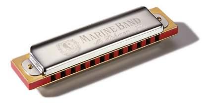 Губная гармоника диатоническая HOHNER Marine Band Soloist 364/24 C