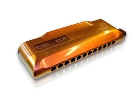 Губная гармоника хроматическая HOHNER CX 12 Jazz 7545/48 C