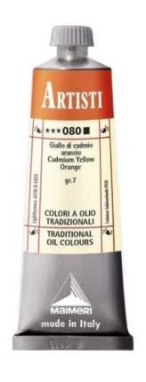 Масляная краска Maimeri Artisti 080 кадмий оранжевый 60 мл