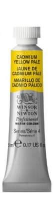 Акварель Winsor&Newton Professional кадмий желтый бледный 5 мл