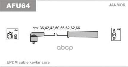 Комплект проводов зажигания JANMOR AFU64