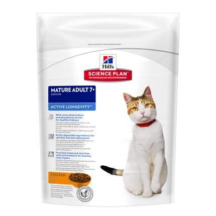 Сухой корм для кошек Hill's Science Plan Active Longevity Mature Adult 7+, курица, 0,3кг
