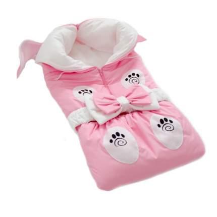 Одеяло-трансформер Евгения Весна Зайчик розовый