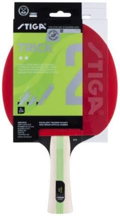 Ракетка для настольного тенниса Stiga Trick ACS, красная