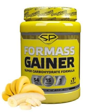 Гейнер Steel Power Nutrition For Mass Gainer 1500 г банан