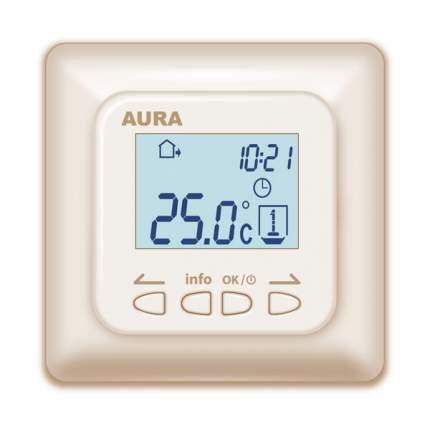Терморегулятор для теплых полов Aura Technology LTC 730 кремовый