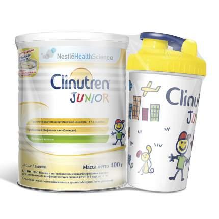 Сухая смесь Nestle Clinutren® Junior + Шейкер с ароматом ванили, 400 г