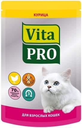 Влажный корм для кошек VitaPRO, курицей, 100г