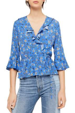 Блуза женская MANGO синия XS