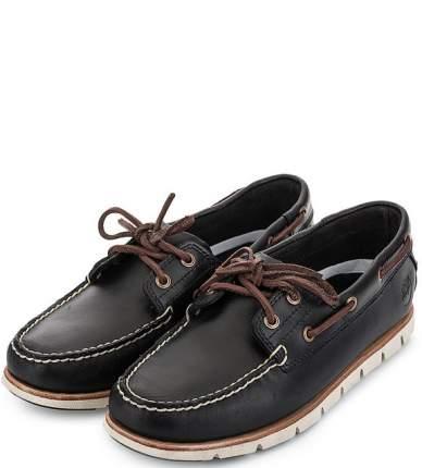 Топсайдеры мужские Timberland TBLA1BBUW черные/коричневые 11.5 US