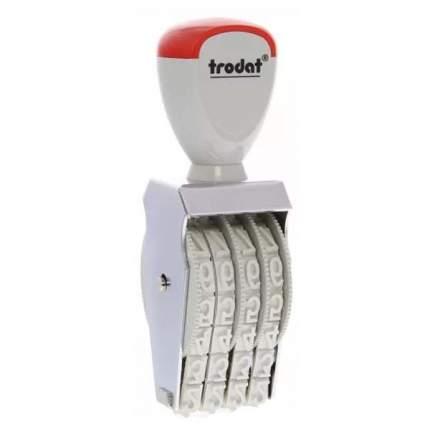Нумератор ленточный Trodat Classic Line 1574. 4 разряда. Высота шрифта: 7 мм.