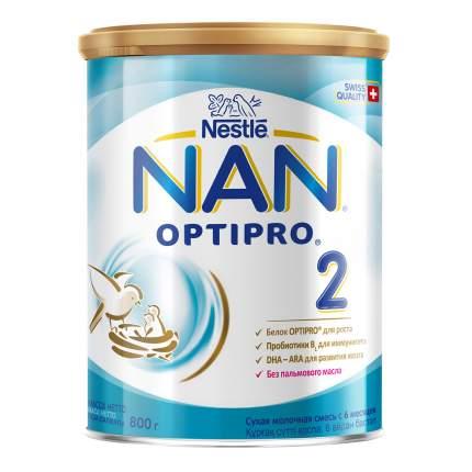 Молочная смесь NAN 2 для детей 6-12 мес. 800 г