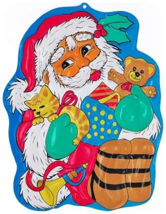 "Новогоднее панно ""Дед Мороз с подарками"", 50 х 39 см Snowmen"