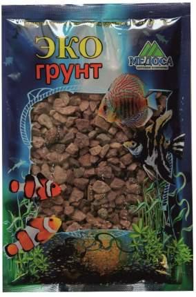 Грунт для аквариума ЭКОГРУНТ  Кварицит малиновый 3 - 6 мм 3,5кг