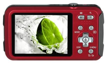 Фотоаппарат цифровой компактный Panasonic Lumix DMC-FT30 Red