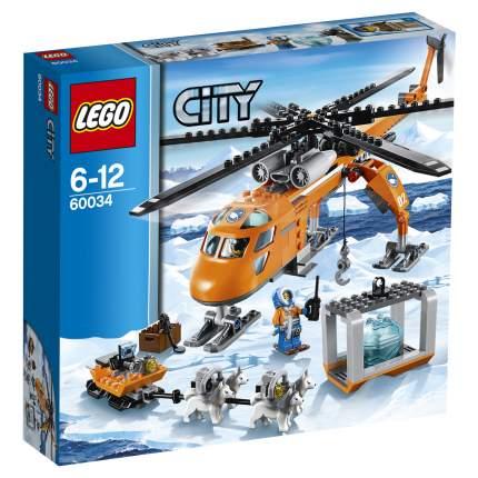Конструктор LEGO City Arctic Арктический вертолёт (60034)