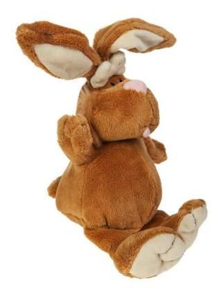 Мягкая игрушка Gulliver Кролик коричневый сидячий, 23cм