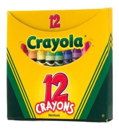12 разноцветных восковых мелков