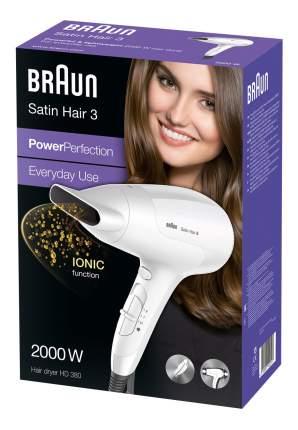 Фен Braun HD 385 Diffusor White