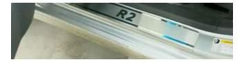 Накладки на пороги RIVAL NP.1301.1