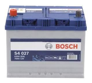 Аккумулятор автомобильный автомобильный Bosch S4 Silver 0 092 S40 270 70 Ач
