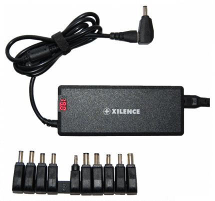 Сетевое зарядное устройство Xilence SPS-XP-LP75.XM008 75Вт 11 переходников