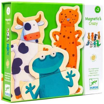 Семейная настольная игра Djeco Забавные животные