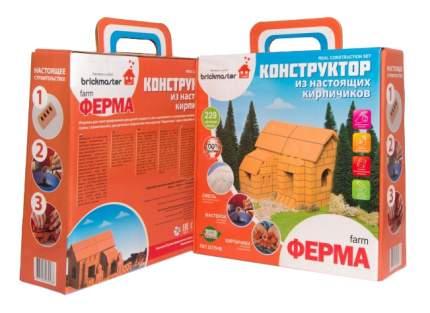 """Конструктор из настоящих кирпичиков """"Ферма"""", 229 деталей"""