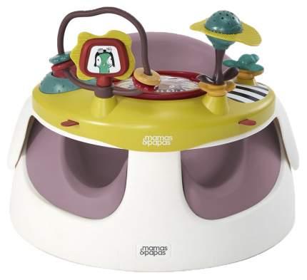 Стульчик для кормления Mamas & Papas Baby Snug and Activity Tray Plum