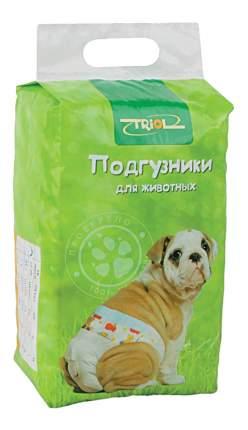 Подгузники для домашних животных Triol, 2-7кг, размер XS, 22 шт.