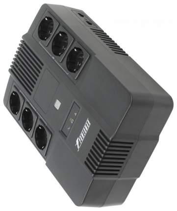 Источник бесперебойного питания Powerman Brick 800 Black