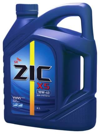 Моторное масло ZIC 10w40 4л