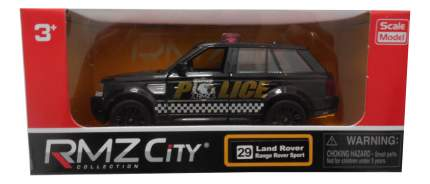 Коллекционная модель Land Rover Ranger Police RMZ City 554007P 1:32 Полиция