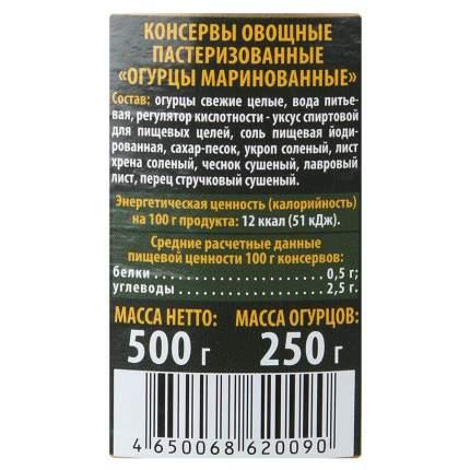 Огурцы Верес маринованные 500 г