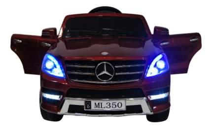 Электромобиль Mercedes-Benz ML350 вишневый глянец RIVERTOYS