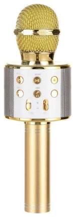 Микрофон-караоке с динамиком MicGeek Q9 Золотой
