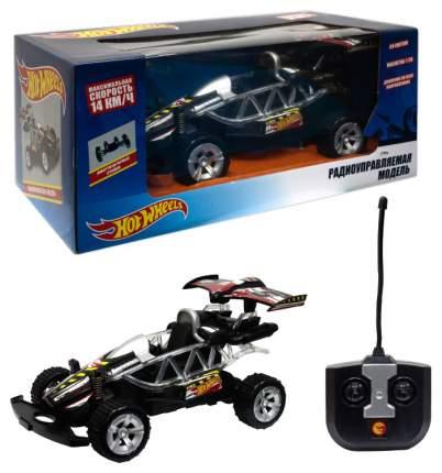 Радиоуправляемая машинка 1 TOY Hot Wheels Багги 1:20 со светом чёрная