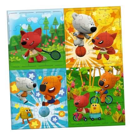Набор пазлов Origami 4 в 1 Ми-Ми-Мишки 9-16-25-36А Веселые старты