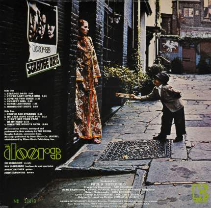 Виниловая пластинка The Doors STRANGE DAYS (MONO) (180 Gram)