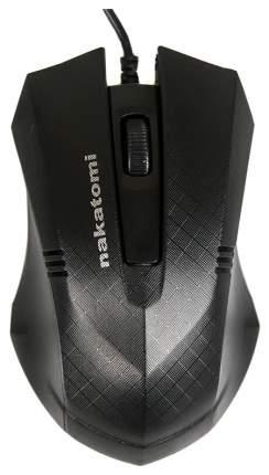 Проводная мышка Nakatomi MON-04U Black