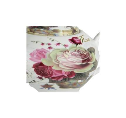 Чайник заварочный Коралл CF125-TP Чайная роза Белый