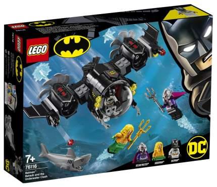 Конструктор LEGO Super Heroes 76116 Подводный бой Бэтмена