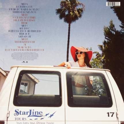 "Виниловая пластинка  Lana Del Rey ""Honeymoon"" (2LP)"