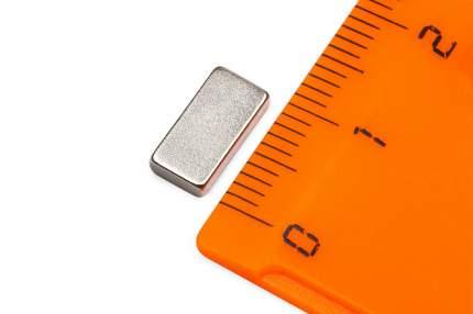 Неодимовый магнит Forceberg прямоугольник 10х5х2мм, 40шт