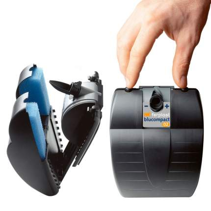 Фильтр для аквариума внутренний Ferplast Blucompact 02, 450 л/ч, 6,5 Вт