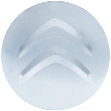Наклейки на диски литые с логотипом автомобиля Ситроен 12050018 D-56 мм серебристые