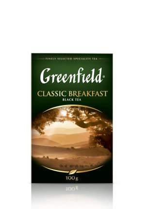 Чай черный Greenfield листовой сlassic breakfast 100 г